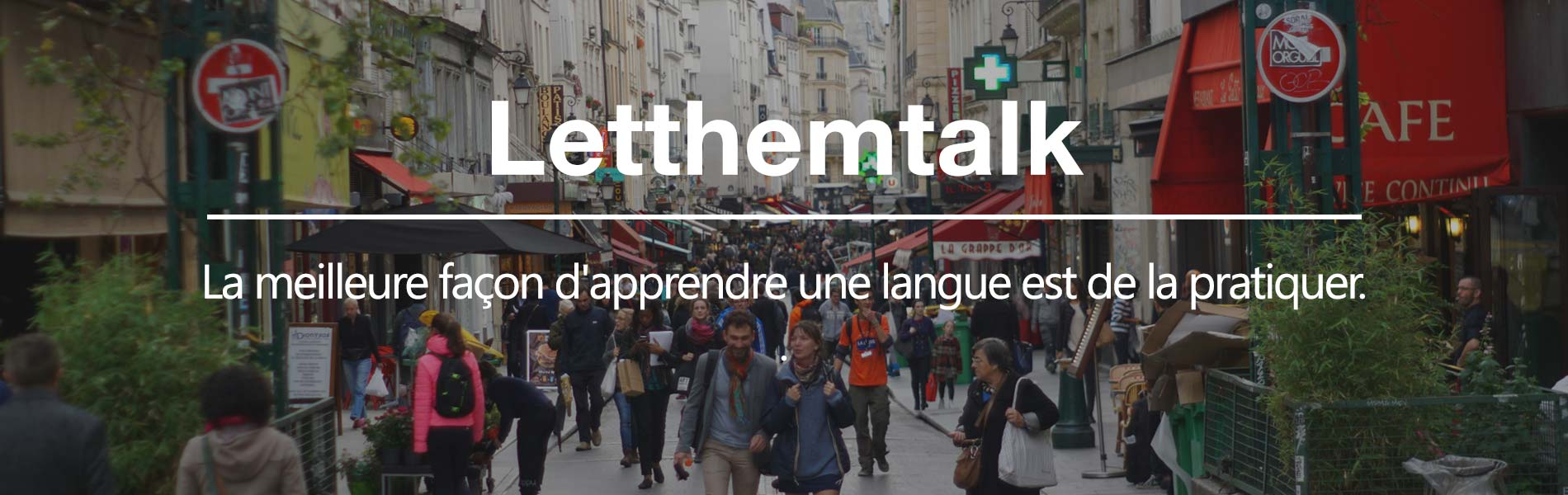 LetThemTalk école de langues à Paris